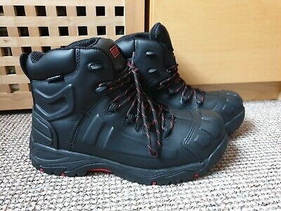 TITAN  MENS WATERPROOF LEATHER NON METALLIC SAFETY BOOTS Size uk 10