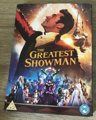 THE GREATEST SHOWMAN DVD (2018) Hugh Jackman MUSICAL WITH SLIP COVER DVD FILM