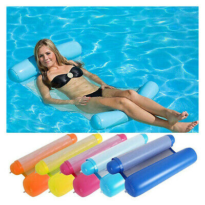 Inflatable Lounge Chair Pool Float Swimming Seat