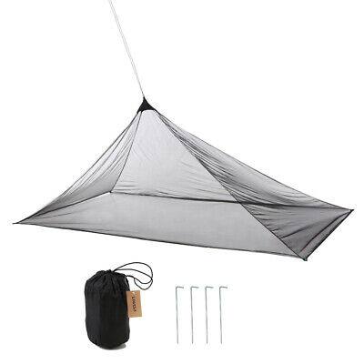 Lixada Ultralight Mosquito Repellent Insect Bugs Shelter Pyramid Mesh Net B6R1