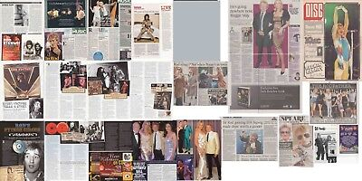 ROD STEWART : CUTTINGS COLLECTION -magazine articles- adverts etc