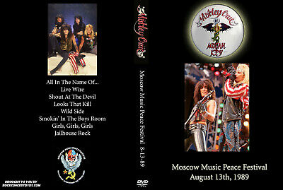 Motley Crue 1989 Moscow Music Peace Festival DVD