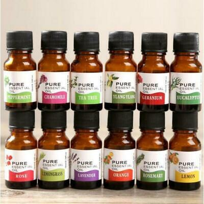 100% Pure Natural Essential Oils Carrier Oil Aromatherapy Grade Healthy Hot W2H3