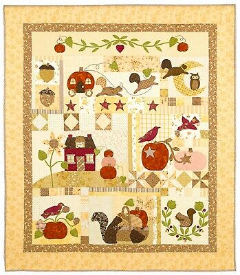 Brand NEW Bunny Hill Designs Pumpkin Hill Quilt Pattern Bunnyhill
