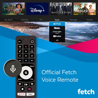 Fetch Remote + Netflix Button: Suits Mighty, Mini & Gen 2