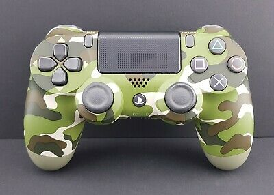 Sony PS4 Controller - Dualshock 4 Wireless PlayStation 4 Controller - Camo Green