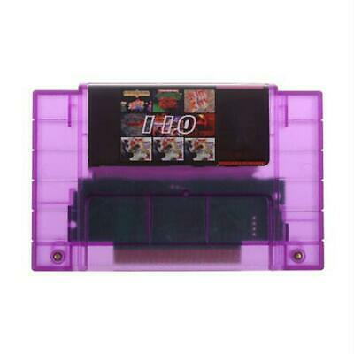 Super 110 In 1 Game Cartridge Video Games Card Box For SNES 16-Bit Gamers Gifts