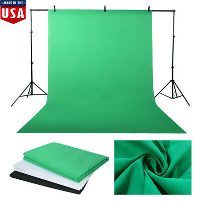 Photography Studio Backdrop Softbox Umbrella Lighting Kit Background Stand Kit