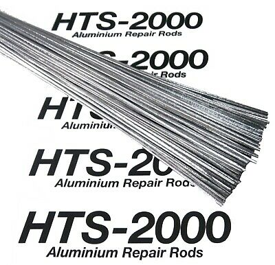 HTS 2000 Aluminium Alloy Brazing Welding Soldering Repair Rods Low Temp Cast Fix