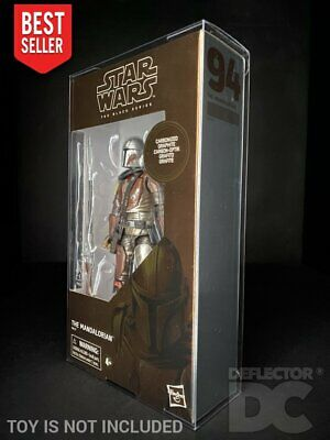 Star Wars The Black Series Red/Black 6 Inch Protective Display Case