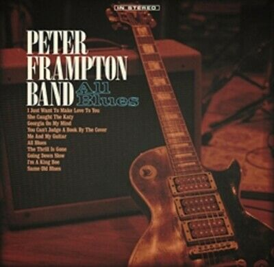Peter Frampton Band - All Blues - New CD Album - Pre Order 7th June