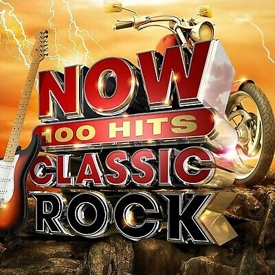 Now 100 Hits Classic Rock - New 6CD Set