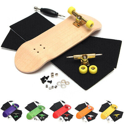 32mm Wide Origional Complete Wooden Fingerboard +Bearing Grit Box Tape Basic