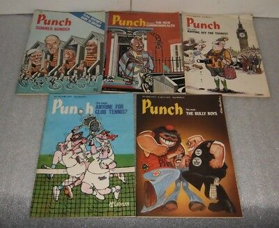 Punch Magazine June 1977 (5 issues)