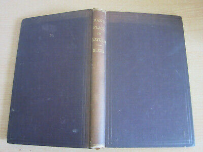 Evidence as to Man's Place in Nature  - Thomas Huxley 1876 Evolution Book