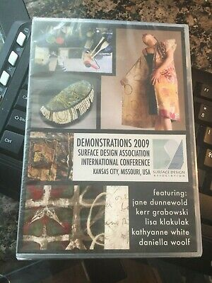 Demonstrations 2009 Surface Design Association International Conference DVD NEW