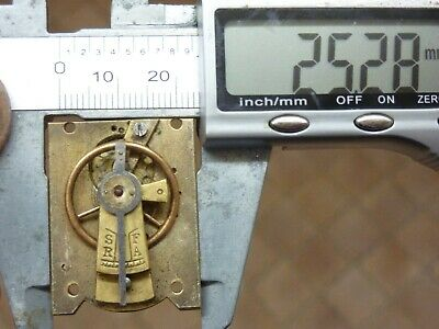 Old French Clock ?  Platform Escapement--Spares Or Repair (Z) Free Post