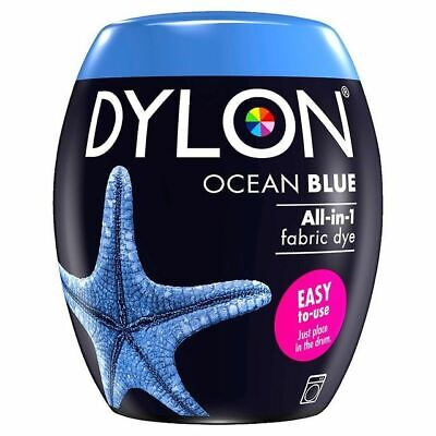 Dylon Machine Dye Pod Ocean Blue, 3 Pack