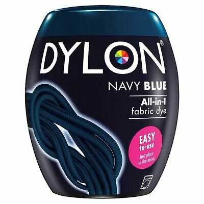 Dylon Machine Dye Pod Navy Blue, 3 Pack
