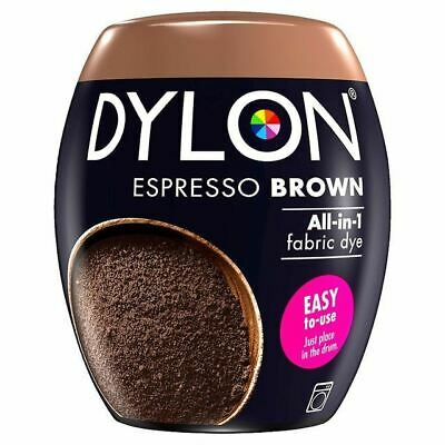 Dylon Machine Dye Pod Espresso Brown, 3 Pack