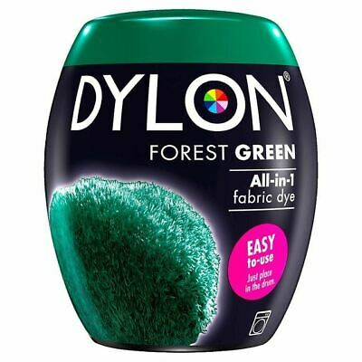 Dylon Machine Dye Pod Forest Green, 9 Pack