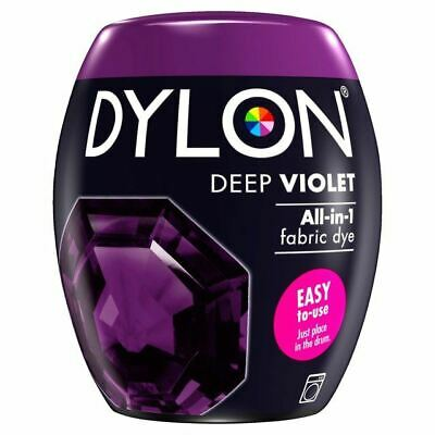 Dylon Machine Dye Pod Deep Violet, 4 Pack