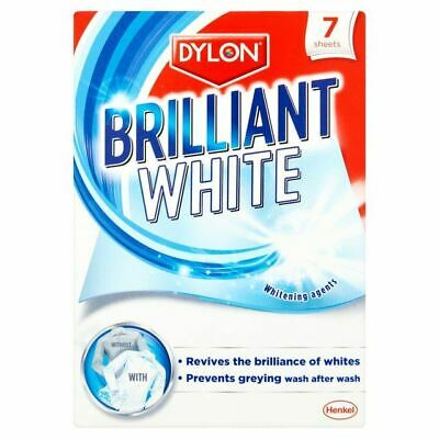 Dylon Brilliant White Laundry Sheets 7 per pack, 8 Pack