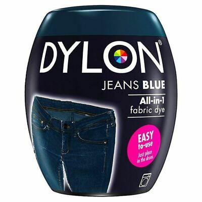Dylon Machine Dye Pod Jeans Blue, 3 Pack
