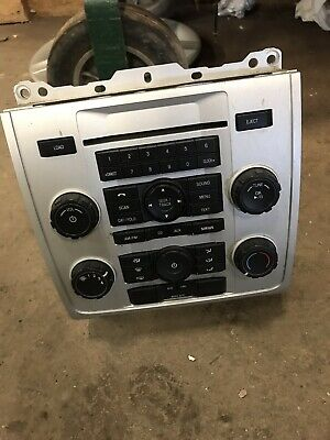 ✅ 10 11 12 Escape Mariner CD AUX Radio Player Climate Control Panel Bezel OEM