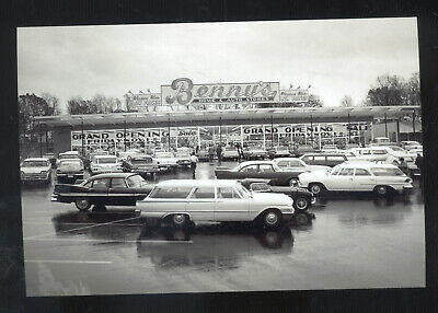 Real Photo Groton Connecticut Ct. Benny's Store Advertising Postcard Copy