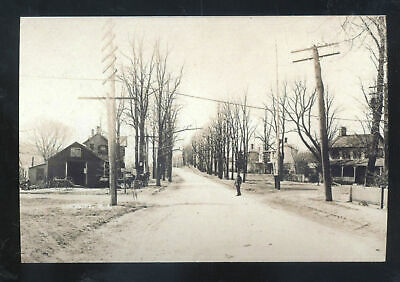 Real Photo Lincroft New Jersey Residence Street Scene N.j. Postcard Copy