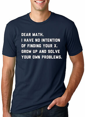 b0de213f4 Solve Your Own Problems Math Teacher T Shirt Science Engineer Funny School  Tee