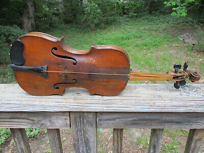 Antique Repare Par A Lavalee Montreal Violin Lavallee perhaps?? & 2nd Violin