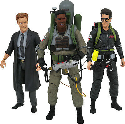 """Diamond Select Toys #NEW GHOSTBUSTERS II 3 7/"""" Series 6 Action Figure Set"""