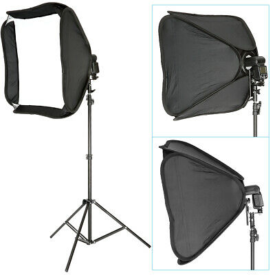 Neewer Profesional Protable fuera-Cámara Flash Softbox y soporte Kit para Nikon