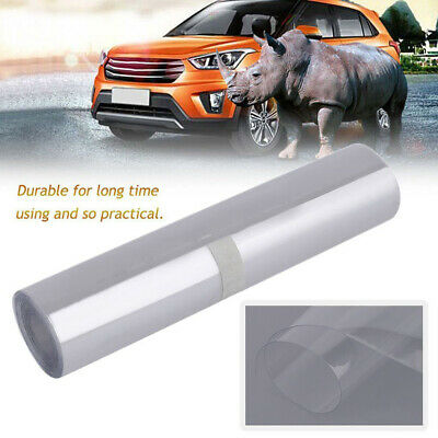 RHINO HIDE Car Clear Paint Protection Vinyl Film Sticker 15CM x 3M TRIPLE LAYER