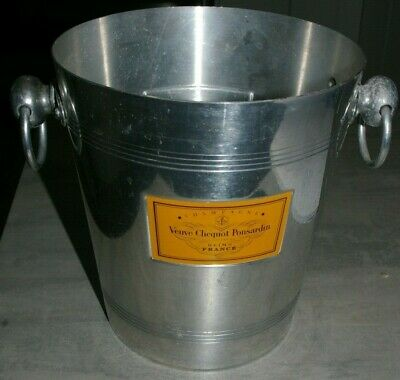 Veuve Clicquot Ponsardin Wine Bucket Cooler, Ice Bucket  - Aluminium