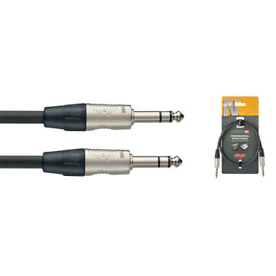 NEW Stagg NPC090R 90cm//3ft Mono Jack to Jack Patch Cable
