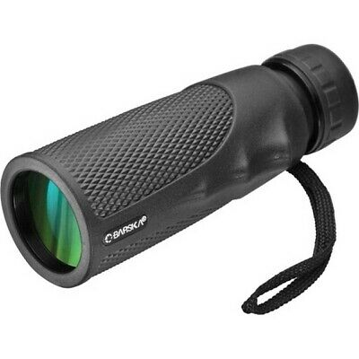 Barska Optics AA12132 Blackhawk Monocular 10x40mm WP BK-7 Prism Green Lens