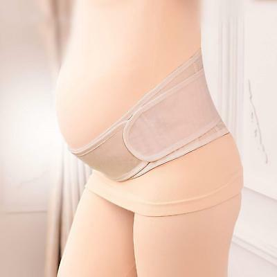 Pregnant Maternity Support  Band Belt Waist Lumbar Lower Belly Protect Strap ne8