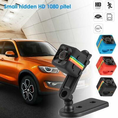 Security Camera Hidden Video Motion Detection 32GB Card SQ11 HD Mini Car DVR Cam