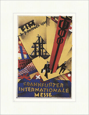 FIM 3. Frankfurter Internationale Messe 1920 Albert Fuss Plakatwelt 1217