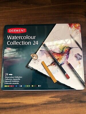 Derwent Watercolor Collection 24 (Metal Tin)