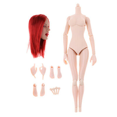 1//6 Scale Female Wheat//Pale Skin Hands Claw Model For 12/'/' Phicen Figure Body