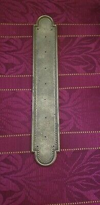 Vintage Made In Italy Brass Door Push Plate (JD0028)
