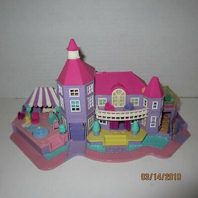 Polly Pocket Bluebird Magical Mansion Playset Only Works