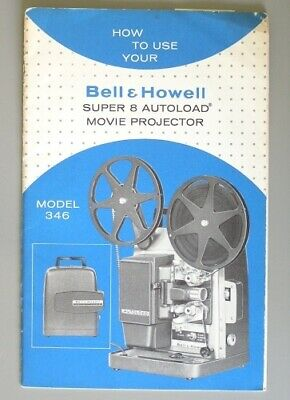 BELL & HOWELL 356, 357 Super 8 Movie Projector Service and