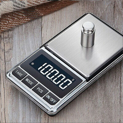 Digital Weighing Kitchen Jewelry Scales Electronic Ultra Slim Design Black+Steel