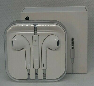 OEM Genuine Earpods Headphones for Apple iPhone 5 5s 5C 6 6s MD827LL/A 3.5mm Mic