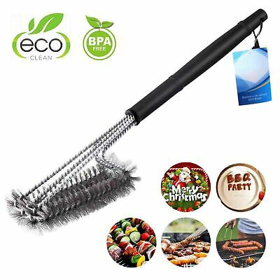 """Grill Brush BBQ Scraper 18"""" Grilling Accessories Barbecue Cleaning Cleaner3 in 1"""